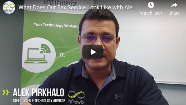 Infiniwiz Fax Services YouTube Thumbnail